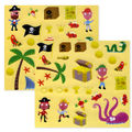 Pirates mini stickers