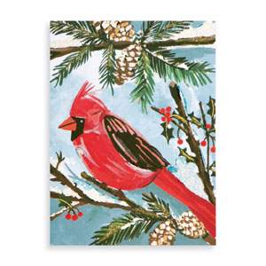 Red Cardinal Holiday Cards