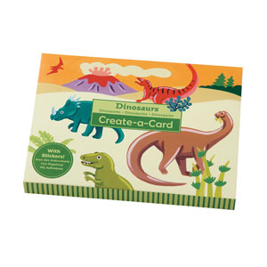 Dinosaurs Create-a-Cards