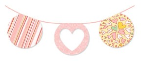 Heart garland crop