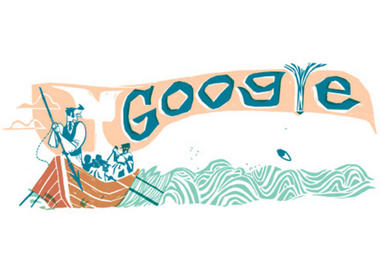 Google Moby Dick doodle