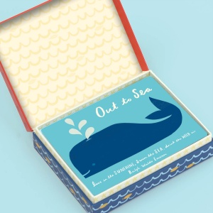 Out to Sea Cards open box