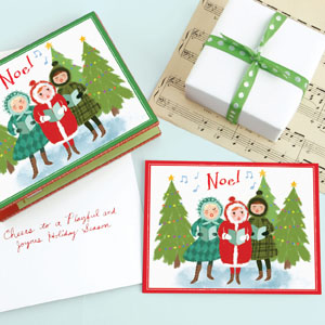 Holiday Chorus cards